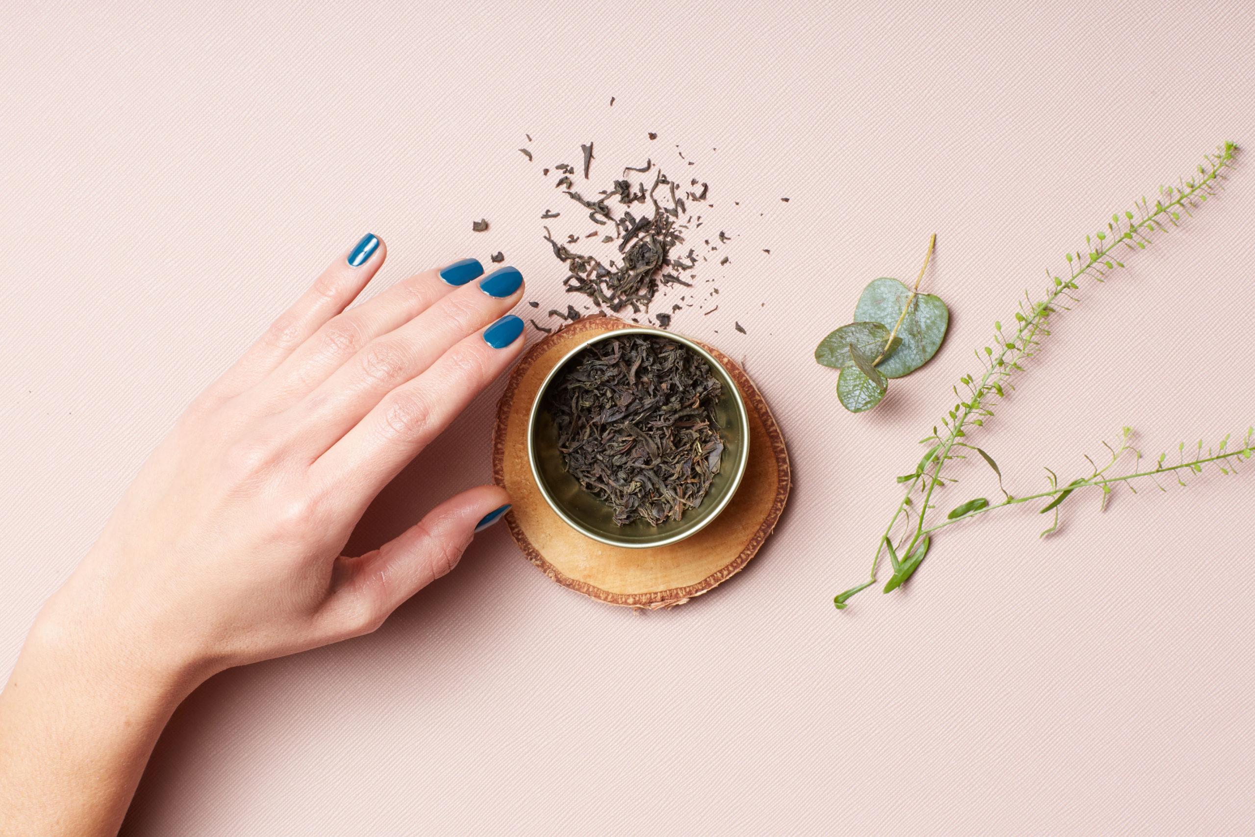 Thé savoir faire ongle plante vois